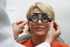 loss of vision